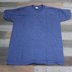 Vintage basic pocket tee